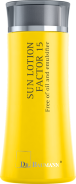 Sun Gel Lotion Factor 15 Free of oil and emulsifier